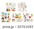学校 国語 算数 社会 理科 英語 30701093