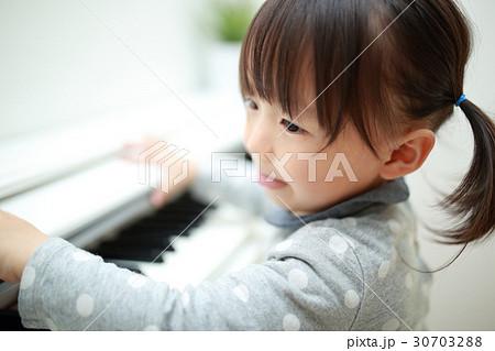 ピアノ 楽器 音楽 (オルガン チェンバロ ハープシコード MIDI シンセサイザー 鍵盤 植物) 30703288