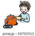 STEM_ロボット_男子_私服 30703312