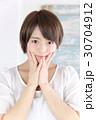 若い女性 ヘアスタイル 30704912