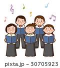 合唱する子供たち 30705923