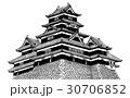松本城 【JPG+PNG】 30706852