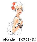 ファッション 流行 イラストのイラスト 30708468