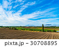 《北海道》美瑛・朝の田園風景 30708895