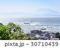 葉山 富士山 海の写真 30710439