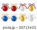 オーナメント クリスマス 飾りのイラスト 30715433