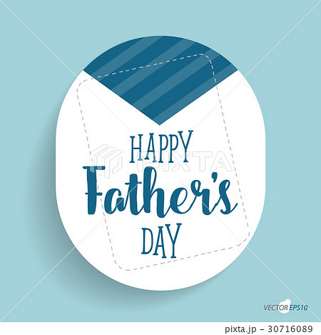 Happy fathers day card design. Vector Illustrationのイラスト素材 [30716089] - PIXTA