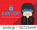 Hoodie hacker on encrypted data, wanna cry ransom  30723449