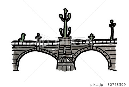 日本橋のイラスト素材 30723599 Pixta