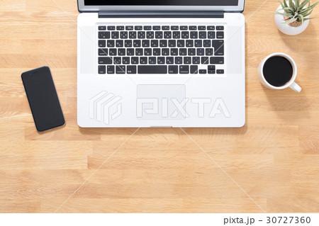 デスク ビジネス イメージの写真素材 [30727360] - PIXTA