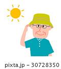 高齢者 男性 おじいさんのイラスト 30728350