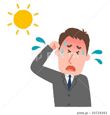 熱中症のビジネスマン 30728363