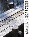 雪のハイキングコース03 30737335