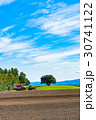 美瑛町 畑 農業の写真 30741122