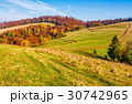 mountain rural area in late autumn 30742965