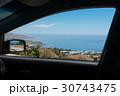 ocean view from car window 30743475