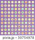 100 100 天然のイラスト 30754978