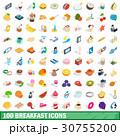 100 100 ブレックファーストのイラスト 30755200