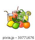 ジュース 丸ごと 全体のイラスト 30771676