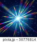 背景 輝く 光のイラスト 30776814