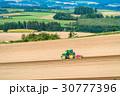 美瑛町 畑 農業の写真 30777396