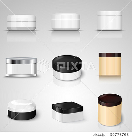 Packaging containers vector templates set.のイラスト素材 [30778768] - PIXTA