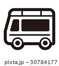 アイコン ワゴン 自動車のイラスト 30784177