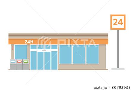 コンビニ【建物・シリーズ】 30792933
