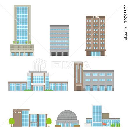 移設のセット【建物・シリーズ】のイラスト素材 [30793376] , PIXTA