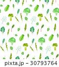 グリーン 緑色 リーフィーのイラスト 30793764