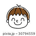 男の子の表情:笑顔 30794559