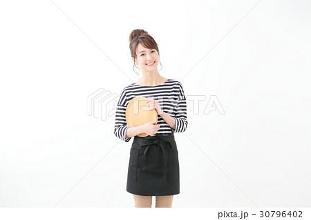 笑顔の女性 飲食業 30796402