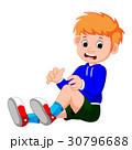 アクシデント 事故 少年のイラスト 30796688
