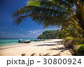 idillyic tropical hidden beach,Thailand 30800924