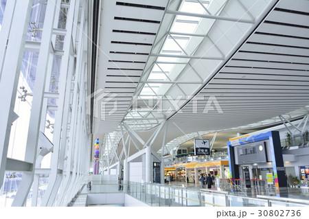 仙台空港ターミナルビル2階 七夕飾り 30802736