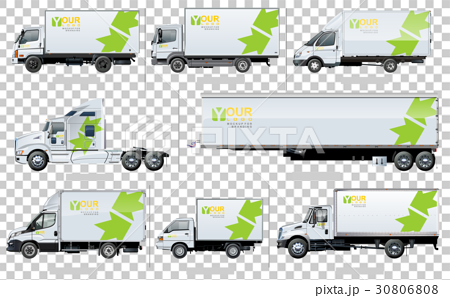 Vector transport template for brand identity 30806808