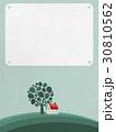 北欧っぽい風景/メッセージボード 30810562
