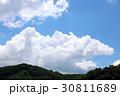 青空 空 雲の写真 30811689