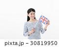 女性 国旗 イギリス 30819950