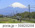 富士山の麓で乗馬体験 30820208