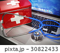 First medical aid or technical support concept. 30822433
