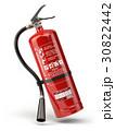 Fire extinguisher isolated on white background. 30822442