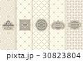 下げ札 付箋 ラベルのイラスト 30823804