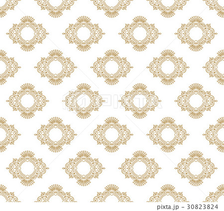 Vector seamless pattern with art ornament forのイラスト素材 [30823824] - PIXTA