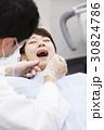 歯医者 患者 治療の写真 30824786