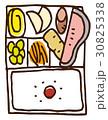 弁当 お弁当 食べ物のイラスト 30825338