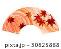 紅葉 秋 和紙 アイコン 30825888