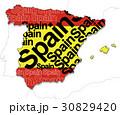 スペイン地図 30829420