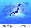 日本ビジネス 世界地図 成長 グローバル 30829759
