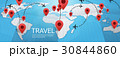 概念 地球 地図のイラスト 30844860